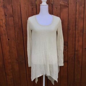 Free People High-Low Thermal Ribbed Dress XS